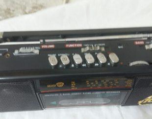 رادیو کاست قدیمی