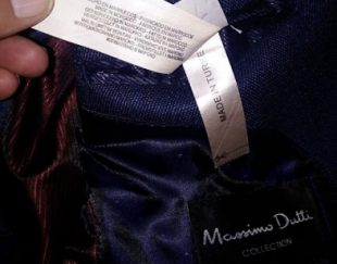 کت تک ترک برند ماسیمو دوتی سایز ۵۲ اسلیم فیت