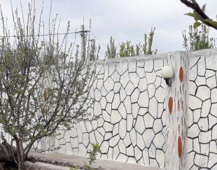نقاشی دیوار باغ و خانه و نصاب پارکت