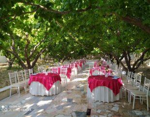 اجاره باغ برای مراسم