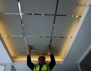نصاب سقف کاذب کناف نومخفی شکبه ۶۰×۶۰