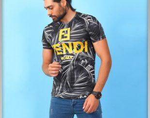 تیشرت مردانه FENDI مدل OLEG
