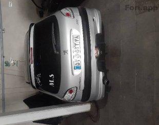 ماشین پژو ۲۰۶ فروشی مدل ۱۳۸۴