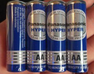 باتری قلمی ۴ تایی پاناسونیک