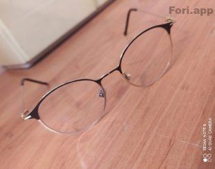 فرم عینک رنگ طلایی