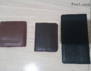 ۳ کیف پول نو چرم