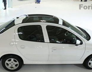 امتیاز خودروی ۲۰۷ پانورما دستی سقف شیشه ای